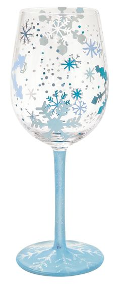 Snowflake Wine Glass by Lolita®