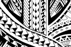 This half sleeve tattoo is a modern style Samoan design. It has some rows of spearheads running through the drawing and a lot of tribal patterns. Hawaiian Tribal Tattoos, Samoan Tribal Tattoos, Maori Tattoos, Bicep Tattoos, Filipino Tattoos, Geometric Tattoos, Polynesian Art, Polynesian Tattoo Designs, Samoan Patterns