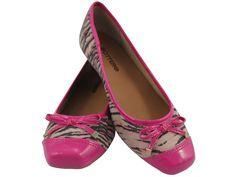 Sapatilha Bottero Camurça Tigre Pink (Ref. 2486), por apenas R$79.90 + frete grátis! Para verificar a numeração e efetuar a compra é só entrar em contato pelo e-mail: vendas@sapatilhashop.com.br