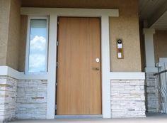 Siedle Gegensprechanlage Projekt von Perao.De. Наружный блок при двери дома.
