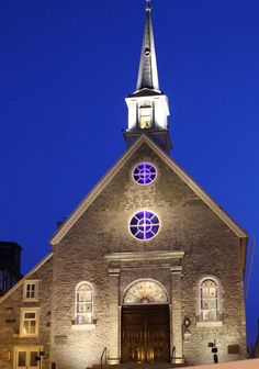 Notre-Dame-des-Victoires Church: Oldest stone church in North America ~ Old Quebec