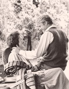 """With Robert Redford, """"Out of Africa"""" (1985) I love this movie!"""