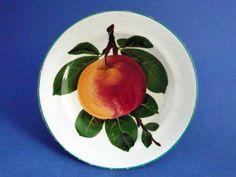 Wemyss Ware 'Apple' Tea Plate c1910