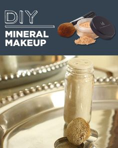 DIY:: Bare Minerals !- forget sephora & bare minerals, save money with same results !  GREAT DIY ideas beyond this! Daily update on my website: ediy3.com