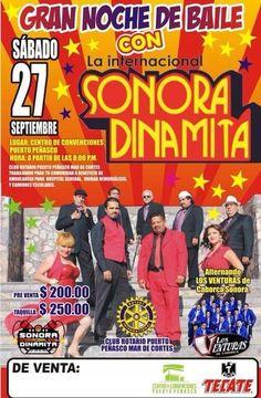 Club Rotario anuncia baile con La Internacional Sonora Dinamita en el Centro de Convenciones.
