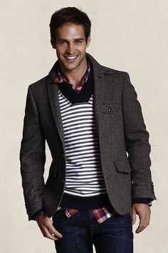 Wool Herringbone Sportcoat