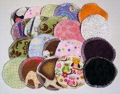 Reusable Makeup Remover Wipes (jholtonquilts @ etsy) $13.40 for 40.