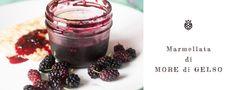 Come preparare una marmellata di more di gelso, un frutto antico ritrovato sulle nostre tavole Candle Jars, Candles, More, Good Food, Dessert, Slim, Canning, Candle Mason Jars, Desserts