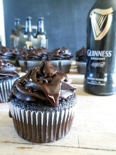 Death by Chocolate Guiness Cupcakes | Sugar Dish Me