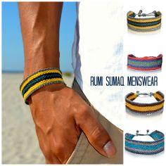 Men's bracelets at rumisumaq.com #menswear #fathersdaygifts #fathersdaygiftideas