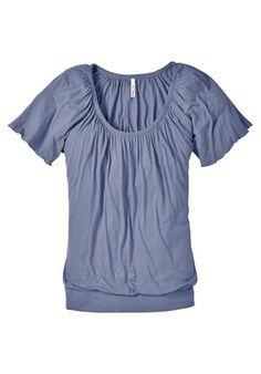 sheego casual sheego Style Flügelarm-Shirt blau