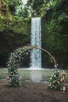 Flower nymph's wedding (photo by Oleg) by WedBali Agency Wedding Ceremony Arch, Elope Wedding, Wedding Bells, Wedding Venues, Wedding Photos, Dream Wedding, Wedding Ideas, Wedding Styles, Best Wedding Dresses