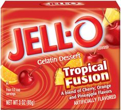 Great Recipes, Dinner Ideas and Quick & Easy Meals from Kraft Foods - Kraft Recipes Jello Desserts, Easy Desserts, Jello With Fruit, Jello Gelatin, Snack Recipes, Snacks, Mixed Fruit, Kraft Recipes, Summer Treats