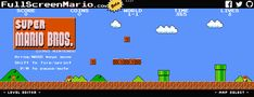 Get ready to waste your life: 'Super Mario Bros.' is now playable on your Web browser!!!