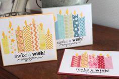 Dir fällt es schwer, besondere Karten zu machen und du kaufst statt dessen lieber schnell eine für den nächsten Geburtstag? Dann kommt hier eine tolle und einfache Idee für dich, wie du schnell eine b