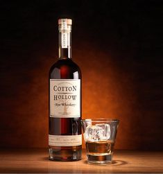 Found it! Perfect second anniversary gift for the hubs for cotton gift..              5 year old rye whiskey aged in the rolling hills of Kentucky