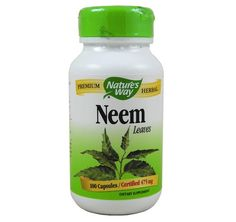 Nature's Way Neem capsules I take neem daily for healthy circulation! :)