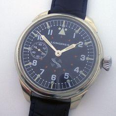 Rare Big Military LONGINES Swiss Wristwatch Aviator Pilots WW2 | Jewelry & Watches, Watches, Parts & Accessories, Wristwatches | eBay!