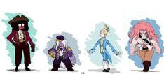 18th Century Crystal Gems by FrankRMB on DeviantArt: Outfits from shark punching photo