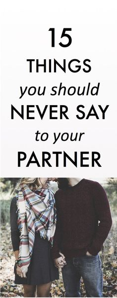 never say this to your partner