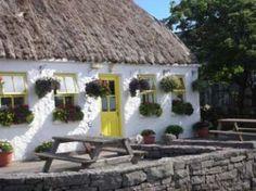 Teach Nan Phaidai - Aran Islands County Galway Ireland - benches tearoom bucketlist Galway Ireland, Pergola, Outdoor Structures, Teaching, Benches, Walks, Tea Time, Islands, Restaurant