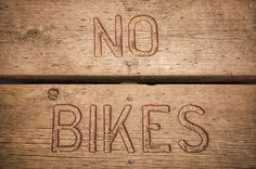 No Bikes by LeeAnn McLaneGoetz McLaneGoetzStudioLLC.com Port Austin Harbor is located at the top of Michigans Thumb, it is one of the boating safe harbors for Lake Huron with an awesome beach scene. Perfect for any Lake Activities. But remember there are no bikes on the board walk. #Michigan