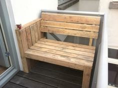pallet seat chair furniture home decor design