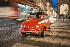 Fiat 500 - Via Farini, Bologna