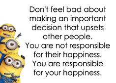 Minion happiness