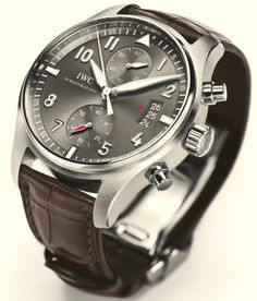 IWC New Pilot Watches For 2012