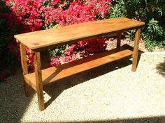 The Sedona Console Table  Handmade with by ArcadianCottage on Etsy, $425.00