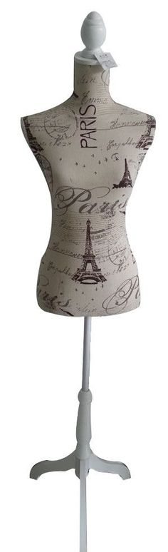 Features:  -Colorful finished look best to display solid colored jewelry, accessories & outfits.  -Lightweight construction of MDF wood.  Product Type: -Decorative Mannequin.  Style: -Contemporary. Di                                                                                                                                                                                 More