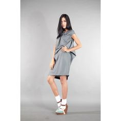 ASSYMETRIC MIDDY DRESS