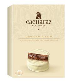 Cachafaz Alfajores Premium Argentine Alfajores Buy Cachafaz alfajores online in the USA. These are white chocolate covered dulce de leche filled premium Chocolate Butter, Chocolate Blanco, Gourmet Recipes, Dessert Recipes, Healthy Recipes, Desserts, Argentina Food, Cookie Packaging, Best Appetizers