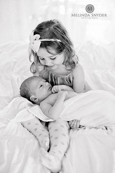 Big Sister and Little Brother. Hudson {NEWBORN}-7038 by Melinda Snyder Photography, via Flickr