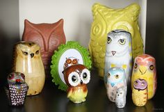 {happy owls} love this collection!