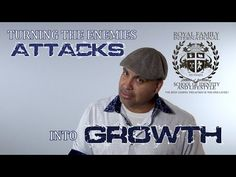 turning the enemies attacks into growth - YouTube