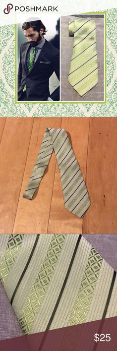 New lime mint green business men ties attire Unique Styles men tie guy boys male gentleman men's suit tie. Very GQ classy chic great for any Occasion. Such as weddings prom interviews dates club a sophisticated business attire. Can also be used for costume.NWOT Unique Styles Accessories Ties