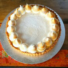 Lemon merengue tart