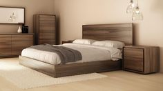 BEDS :: Furniture for every room in your home - and patio! Wood Bed Design, Bed Frame Design, Bedroom Bed Design, Bedroom Furniture Design, Home Room Design, Bed Furniture, Bedroom Sets, Home Decor Bedroom, King Bedroom