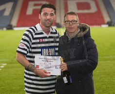 Queen's Park's Chris Duggan Man of the Match after the SPFL League One play off game between Queen's Park and Cowdenbeath.