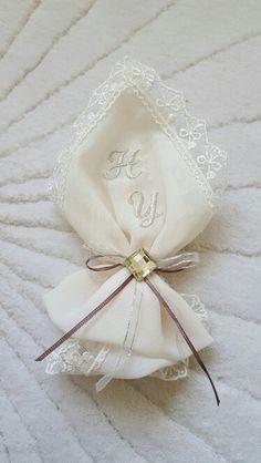 Mendil hazırlıklarına devam... Gift Packaging, Party Time, Napkins, Monogram, Tableware, Gifts, Wedding, Instagram, Vintage