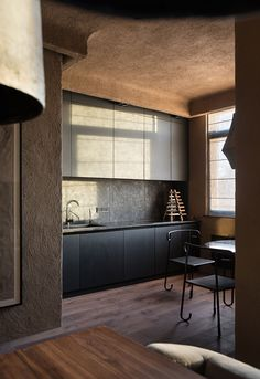 Home: A Serene Ukrainian Penthouse