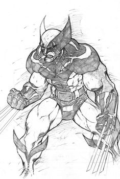 westcoastavengers: Wolverine by Eddie Nunez Marvel Comic Character, Comic Book Characters, Marvel Characters, Comic Books Art, Comic Art, Character Art, Character Design, Comic Book Drawing, Batman Drawing