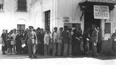 Resultado de imagen de hambre en la posguerra española