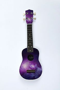 Painted galaxy uke :o http://www.notonthehighstreet.com/theukuleleworkshop/product/the-galaxy-ukulele