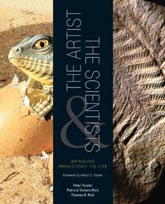 The artist is Peter Trusler ✩ The Artist and the Scientists: Bringing Prehistory to Life