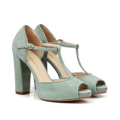 cba4c14b90 Últimas tendencias en los zapatos Custom Chic Zapatos Para Vestido Verde