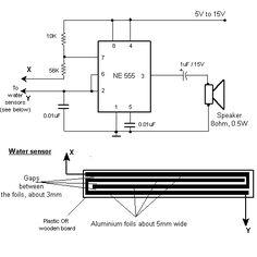 Water Alarm Circuit ~ ELECTRONICS SOLUTION