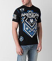 af2b4c94 American Fighter North Dakota T-Shirt American Fighter Shirts, Heather  Black, North Dakota